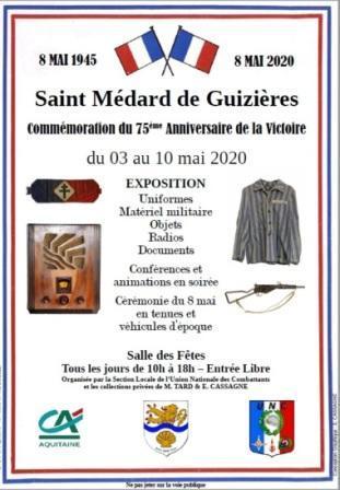 Affiche expo 8 mai 2020