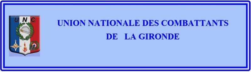 UNION NATIONALE DES COMBATTANTS DE LA GIRONDE